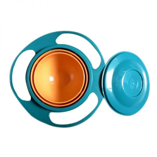 sobababy-rotating-spill-proof-baby-bowl-blue