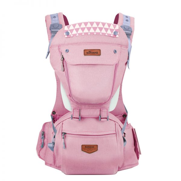 sobababy-pink-ergonomic-baby-carrier.