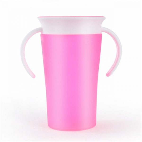 sobababy pink 360 sippy cup